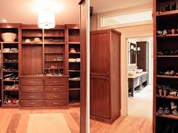 Bathroom Closet Design by Custom Cherry Master Closet Renovation Design Lines Ltd