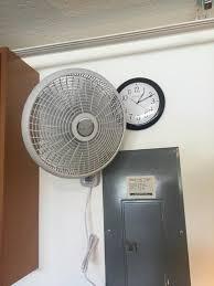 lasko fan wall mount bracket lasko 16 in 3 speed oscillating wall mount fan with remote control