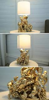Kids Room Light Fixture by Lamp For Kids Room Made From Old Toys I Would Like This Better