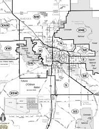 Zip Code Boundary Map Tucsonhomesonsale Com Your Real Estate Company For Tucson Homes