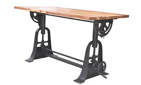 Industrial Drafting Table Reliquedecor