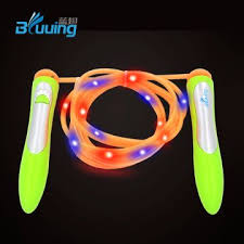 light up jump unique new design wholesale adjustable speed color change light up