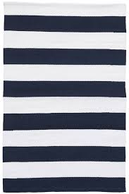 Navy And White Outdoor Rug Catamaran Stripe Navy White Indoor Outdoor Rug Dash Albert