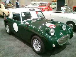 1959 austin healey bugeye sprite at ny international auto show