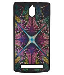 multi color lava l elomo tpu glossy back cover case for lava iris alfa l multicolor