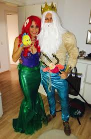 Fantastic 4 Halloween Costumes 25 King Triton Costume Ideas Mermaid