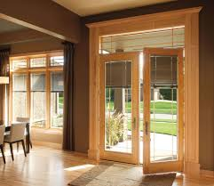 Patio French Doors With Built In Blinds by French Doors With Interior Blinds Images Glass Door Interior