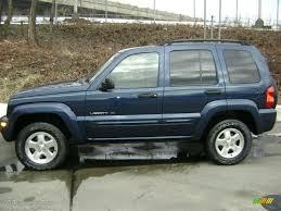 liberty jeep 2002 2002 patriot blue pearlcoat jeep liberty limited 4x4 26068341