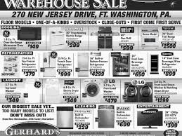 appliance sales black friday gerhard u0027s black friday warehouse appliance sale doylestown pa patch