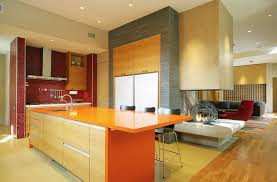 bright kitchen ideas kitchen bright kitchen idea with orange kitchen island and