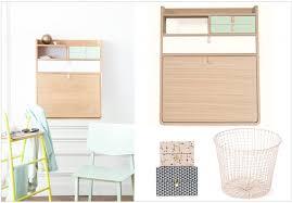 bureau gain de place des petits bureaux pour un coin studieux joli place