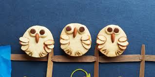 almond shortbread owls recipe