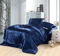 Navy Blue Bedding Set Navy Blue Duvet Covers Buy Blue Bedding Set Silk Satin King