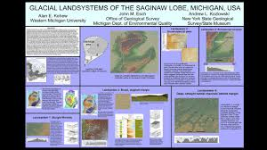 Western Michigan Map by Glacial Geology And Mapping Michigan Geological Repository For