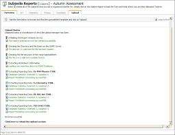 section 7 report template upload assessments to isams school reporting documentation portal