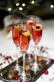 christmas cocktail party decor cranberry champagne cocktail recipe thirsty pinterest