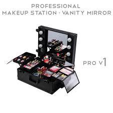 professional makeup station pro v1 professional portable makeup station vanity mirror