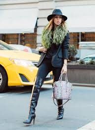 womens boots in fashion sydne style shows how to wear bcbg the knee boots fashion