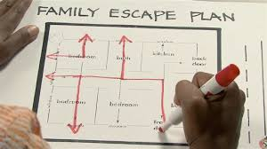 home escape plan fire safety home escape plan monkeysee videos