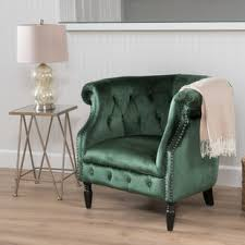 Green Chairs For Living Room Emerald Green Chair Wayfair
