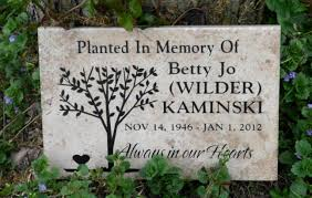 outdoor memorial plaques personalized outdoor memorial plaques