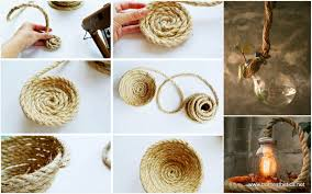 get creative with these 25 easy diy rope projects for your home now