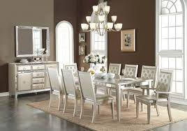 mirrored dining room table sets mirror sophia set all photos