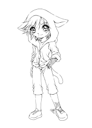 cute anime coloring pages wallpaper coloring pages anthro