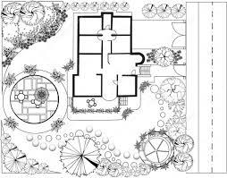 landscape plan u2014 stock vector jelen80 5308814