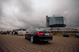 735d bmw bmw 735d f2 black 2012 rent taxi in minsk
