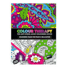 colour therapy anti stress coloring book relax meditation these a