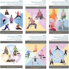 Chair Yoga Poses Teachers Advanced Gentle Senior And Chair Yoga Training Manuals