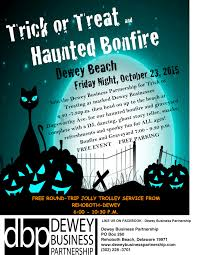 celebrate halloween with tricks and treats in dewey beach