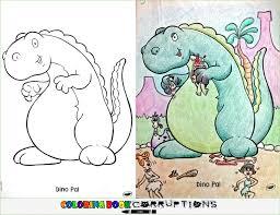 flintstones coloring book corruptions
