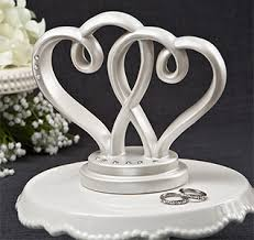 heart cake topper heart cake toppers heart wedding cake top