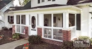 Enclosed Porch Plans How To Enclose A Patio Porch Or Deck