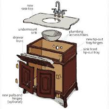 How To Build A Vanity Best 25 Dresser To Vanity Ideas On Pinterest Dresser Bathroom