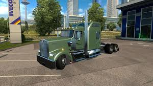kenworth heavy trucks kenworth w900l v1 5 truck euro truck simulator 2 mods