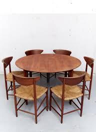 Teak Dining Room Set by Model 316 Teak Dining Chairs By Peter Hvidt U0026 Orla Mølgaard