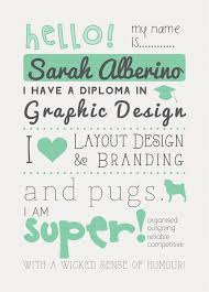 Examples Of Graphic Design Resumes by 10 Best Illustrated Cv Examples Images On Pinterest Graphics