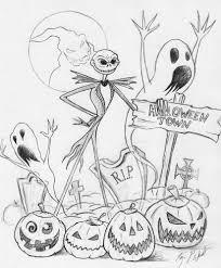 Drawings Of Halloween Halloween Town By Freakcastle On Deviantart