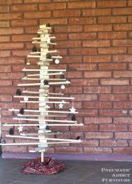 pneumatic addict furniture diy wood slat tree