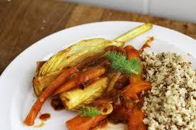cuisiner le fenouil braisé fenouil braisé à la tomate et au safran quinoa gourmand