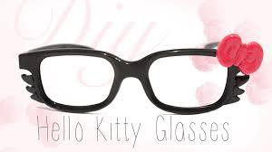 diy hellokitty glasses easy cute 3