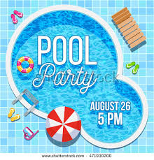 pool party invitations pool party invitation stock images royalty free images vectors