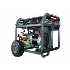 briggs u0026 stratton 7 500 watt gasoline powered portable generator