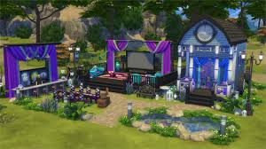 the sims 4 gallery spotlight movie hangout houses venues and