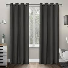 Black Curtains 90 X 54 84 Inch U2013 94 Inch Curtains U0026 Drapes You U0027ll Love Wayfair
