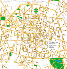 map of bologna bologna italy city center map bologna italy mappery