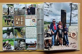 vacation photo album write click scrapbook travel